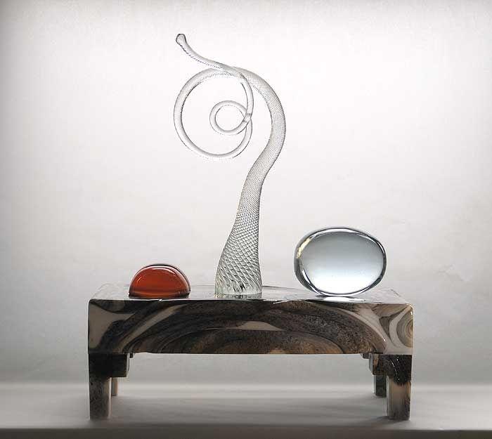 Markku Salo / Art / Still Life / Neito tanssii vetten päällä (The maiden dancing on the water), 2006