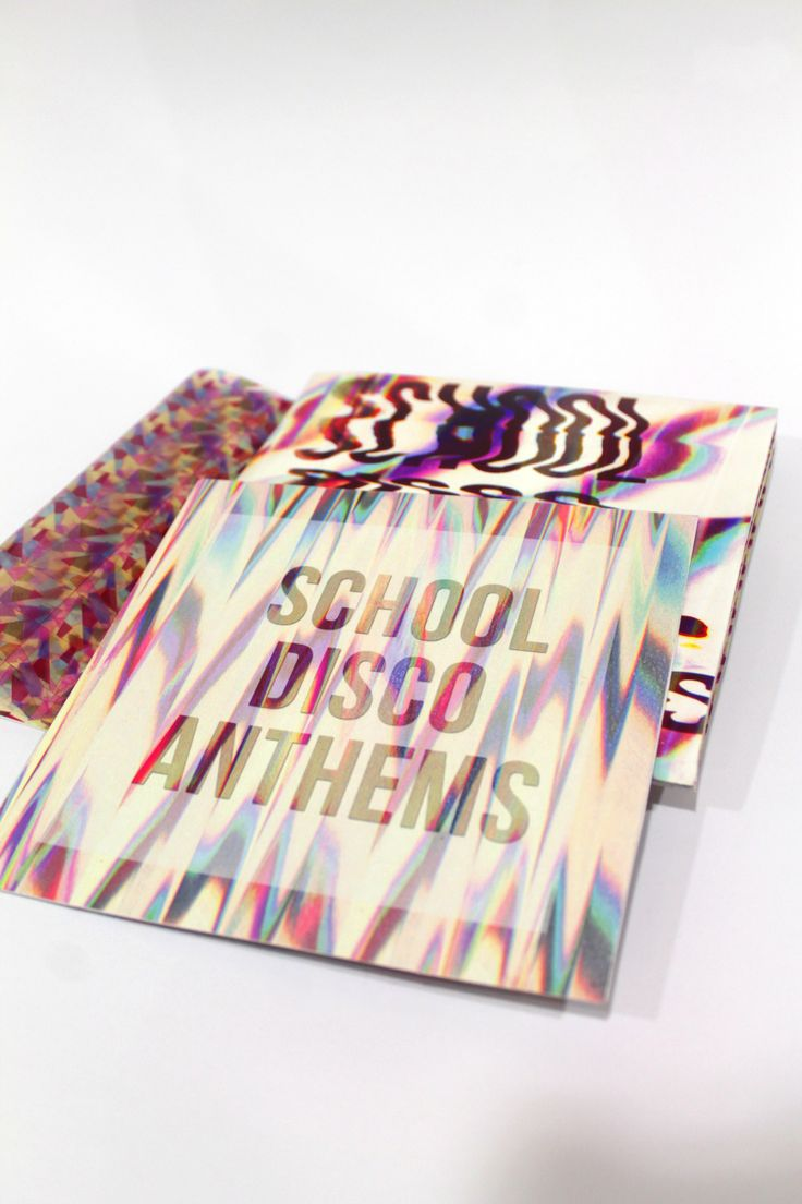 #Type #Typography #Design #Scanography #7inch Vinyl Insert