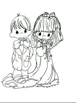 81 best Wedding Coloring Book for the kids images on Pinterest ...