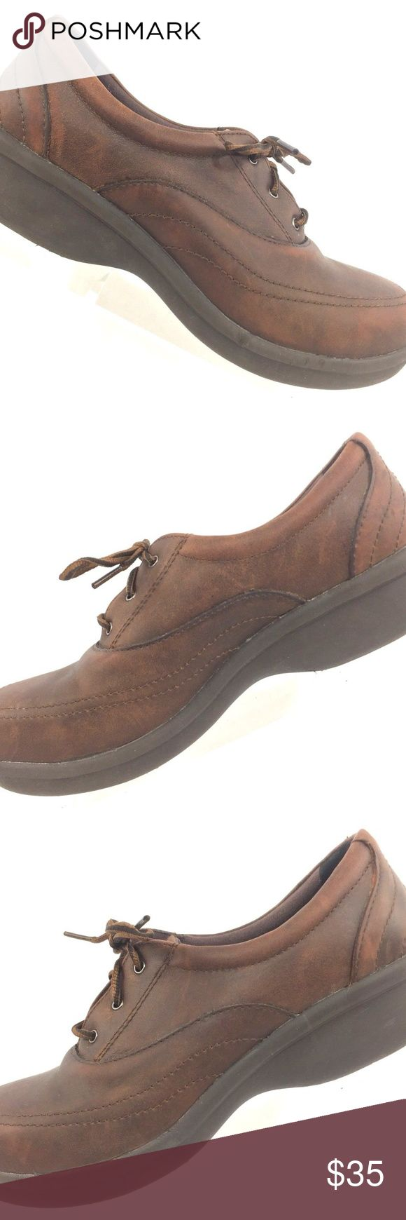 Red Wing Women's ASTMF Steel Toe Brown Work Shoes Red Wing Women's ASTMF 2413-11 Steel Toe Brown Work Leather  Shoes Sz 8 Medium Slip Resistant. Red Wing Shoes Shoes