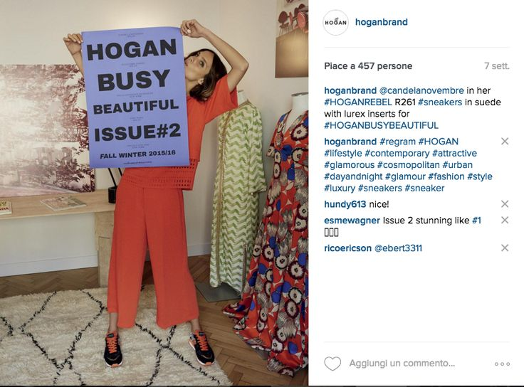 Hogan Busy Beautiful project on Instagram
