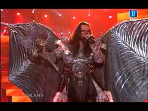 Lordi - Hard Rock Hallelujah (Eurovision 2006) - YouTube