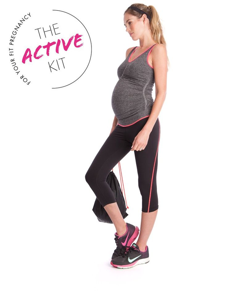 Style out your prenatal yoga class with the Seraphine Active Kit! All you need when it comes to maternity workout clothes, this kit features 4 essential maternity activewear styles for keeping fit and looking fabulous through pregnancy & beyond. It's a must-have for jogging, gym trips, pregnancy yoga & more!