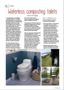 A practical guide to composting toilets, written in an Australian context. #compostingtoilet #pipmag
