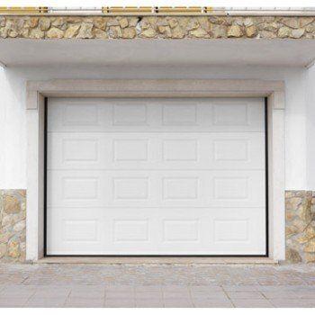 Porte de garage sectionnelle ARTENS H.200 x l.300 cm | Leroy Merlin