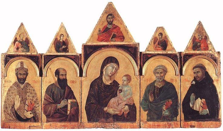 Polittico 28 (1300-1305 circa; Siena, Pinacoteca Nazionale)