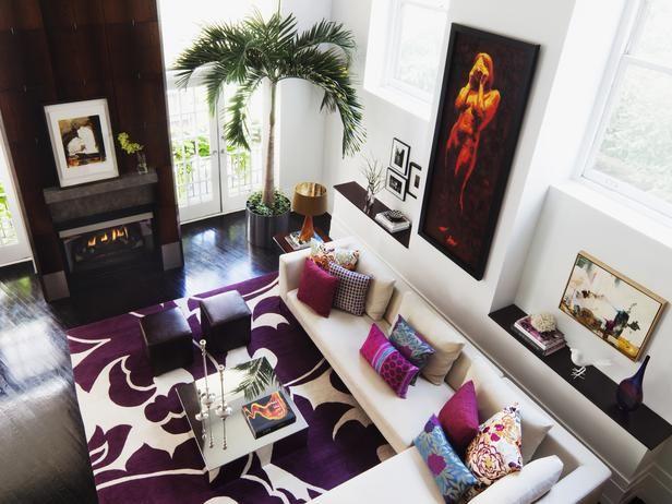 urban living room. Loft Living in Sophisticated Urban Room from HGTV Best 25  living rooms ideas on Pinterest Men s