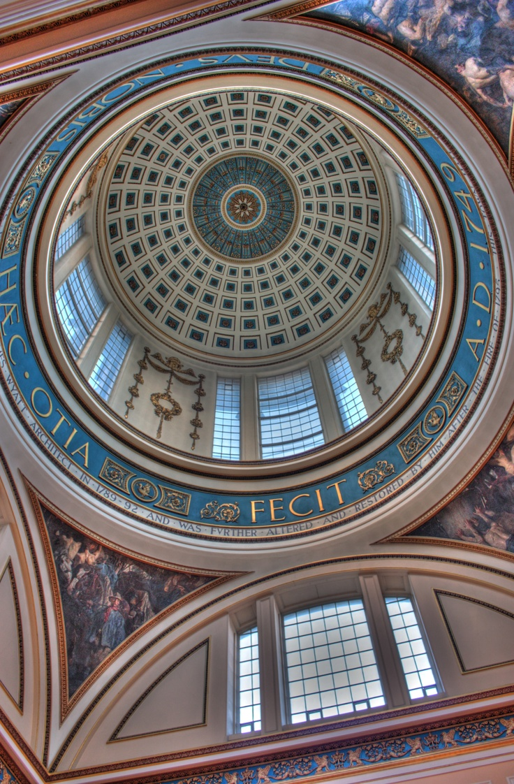 Looking up in Liverpool Town Hall, great shot.