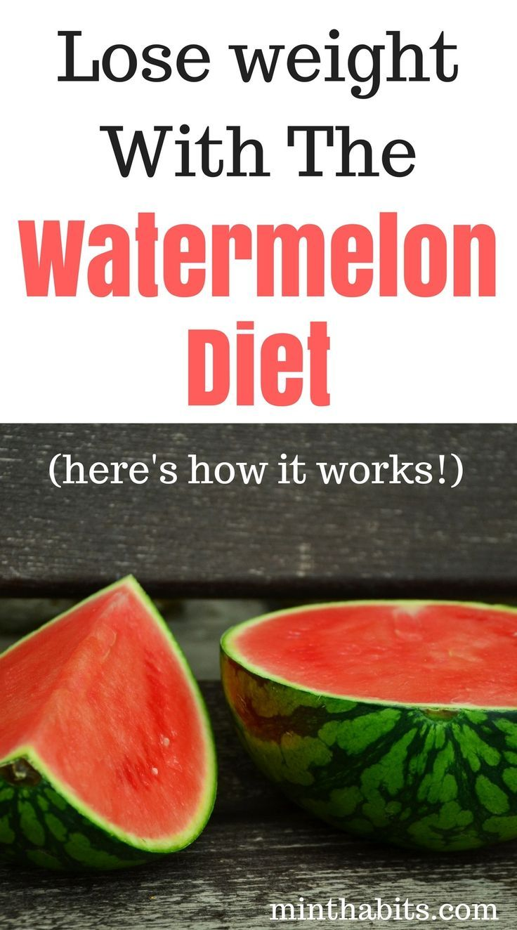how to lose weight with watermelon