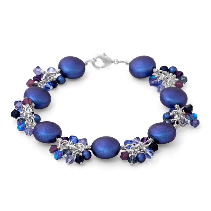 Blue My Mind Bracelet Inspiration Project. Bracelet DesignsBracelet PatternsBlue  ColorsJewelry BraceletsBeaded ...