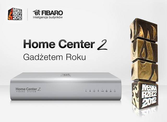 FIBARO Home Center 2 - the best thing for men.