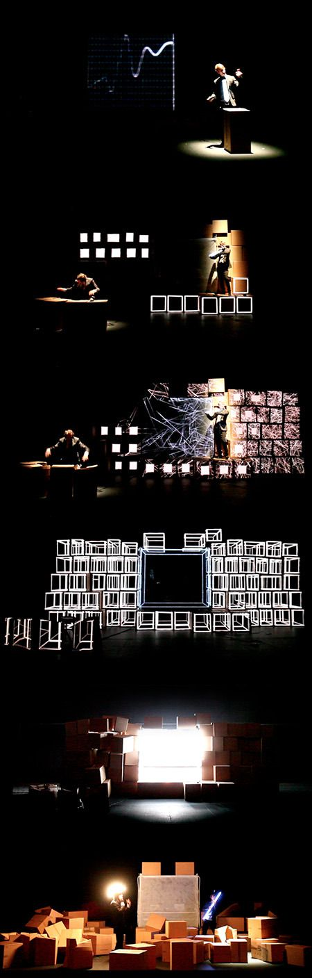set design / theater design / scenography