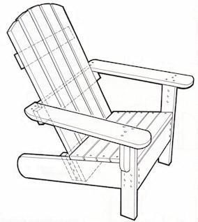 Adirondack Chair Plans You wonder how to make An Adirondack Chair that would look good on any deck or i...