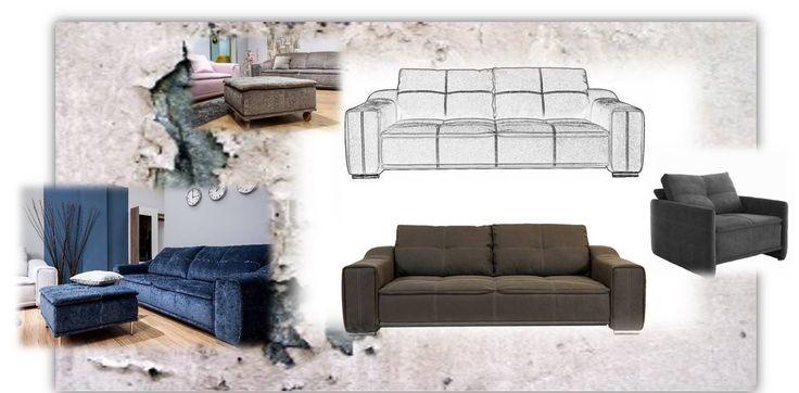 canapea 3 locuri -extensibila    www.canapele.ro