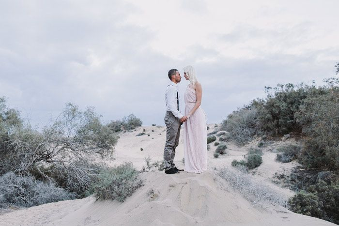 A beautiful day in Gran Canaria. A couple fulfilling their own fairy tale in an outstanding location |  photo by www.faistenberger.com | Roland Faistenberger Hochzeitsfotografie Wien | wedding photographer Austria