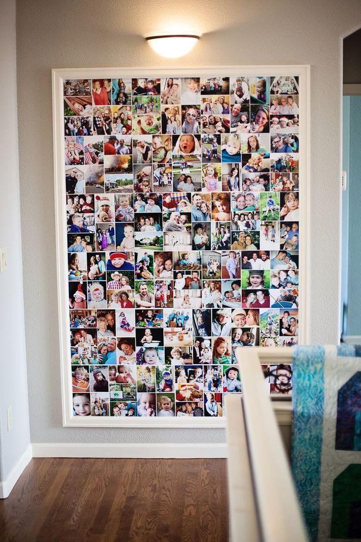 Painel de fotos, quadro com fotos, fotos.