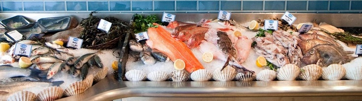 Buy Fish - Fishmongers & Seafood Market for Fresh Fish, Shellfish and smoked fish  - RockFish Grill & Seafood Market Restaurant Bristol