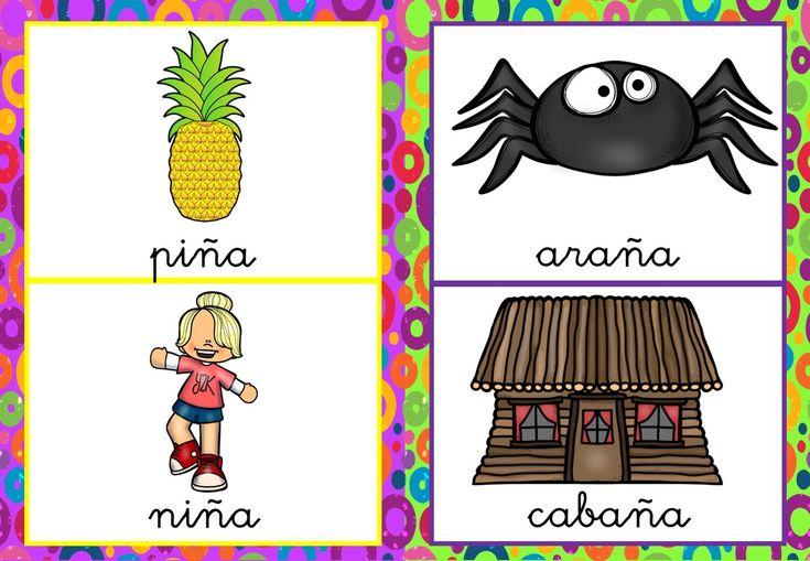 #CONCIENCIA FONOLÓGICA Colección de tarjetas para trabajar las rimas -Orientacion Andujar