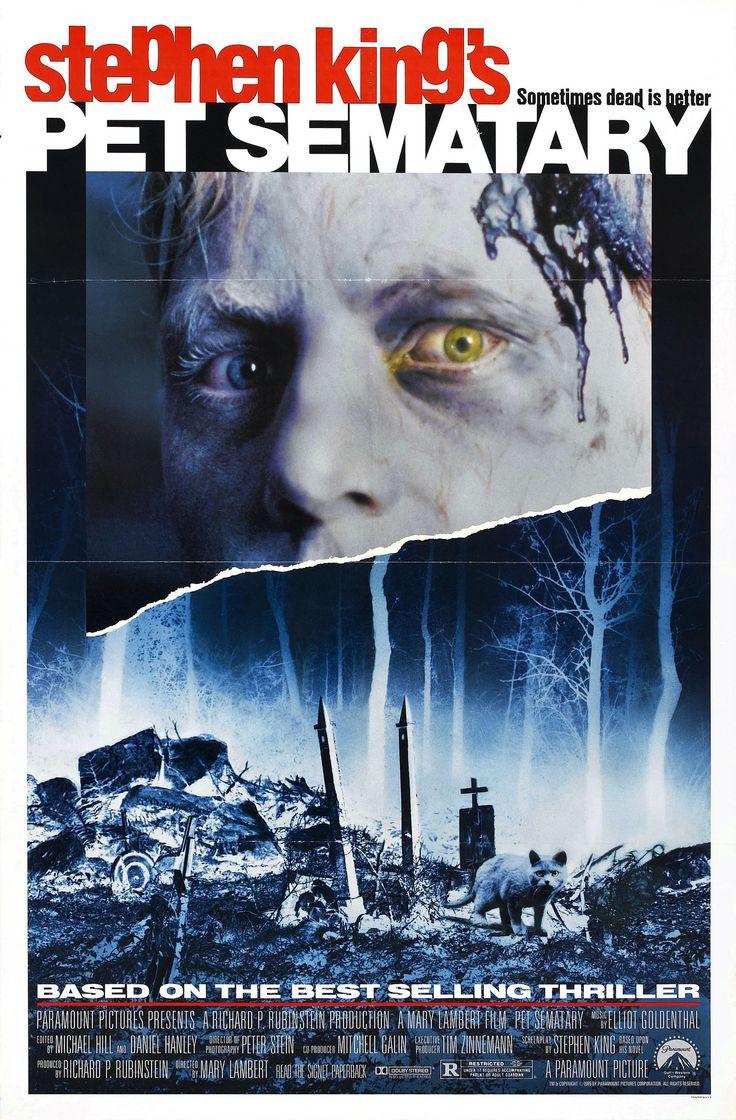 1989 pet sematary 01 Best horror movies, Stephen king