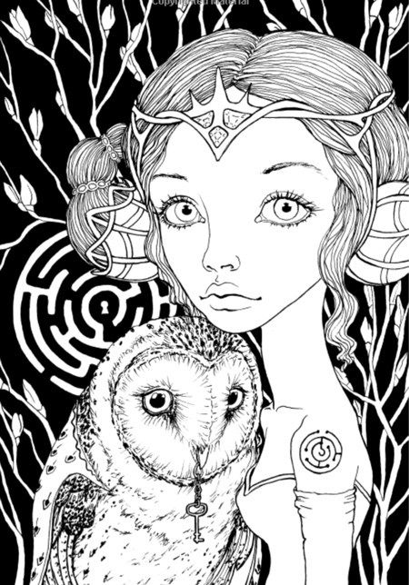 716 best Coloring pages to print Fantasy images on Pinterest