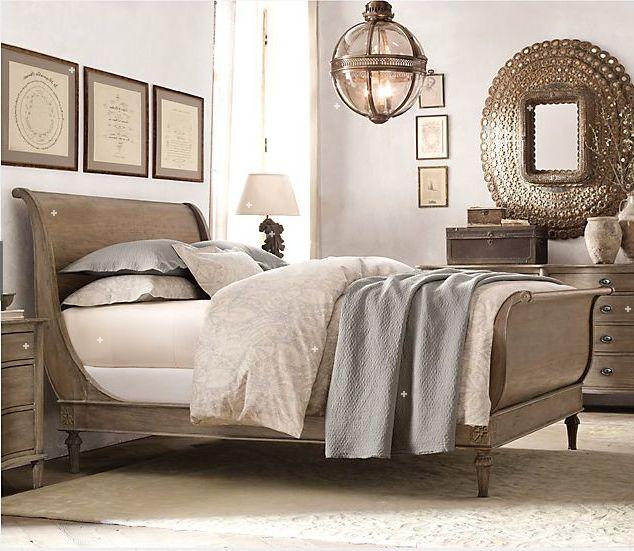 Restoration Hardware Bedroom... Neutral Colors!
