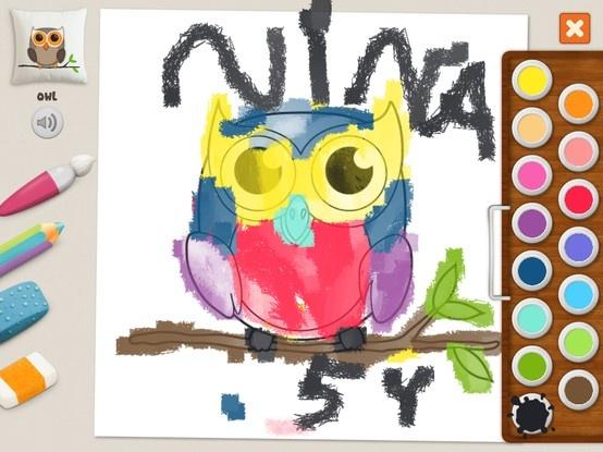 """Owl"" - Nina (age 5)"
