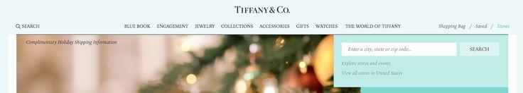 Tiffanys Store Locator Drop Down