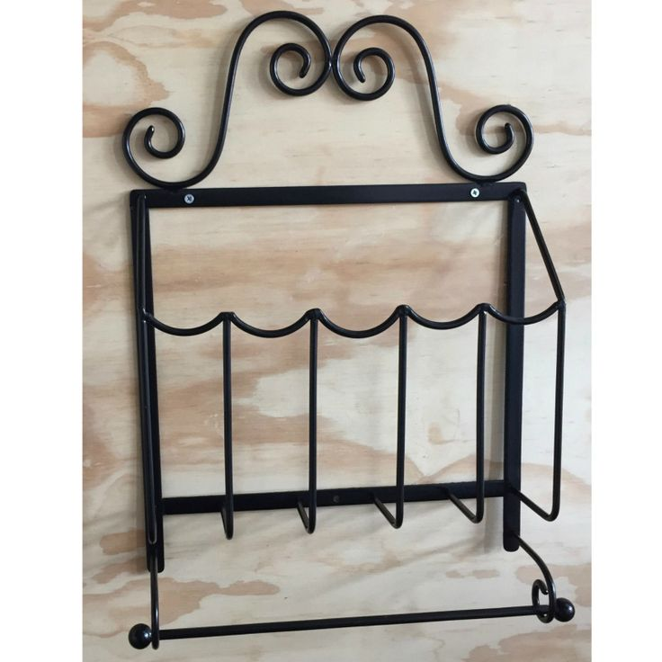 Rounded Ornate Shelf Basket. Use in bathrooms and bedrooms. Store shampoo, toiletries, music, towels, cream, body lotion, books, toys and more. Mild steel.
