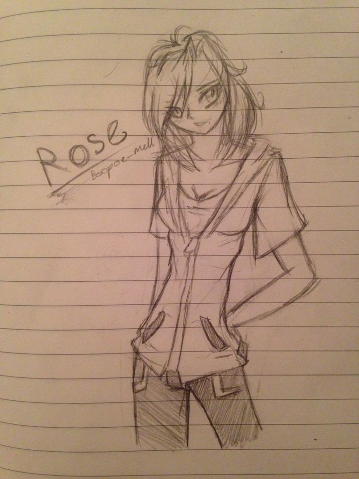 Rose my new character