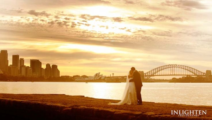 Sergeants Mess -   Inlighten Photography wedding ceremony during sunset capturing romantic and lovely sunsets.