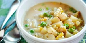 Flour, Cornstarch, Potato Starch, and Arrowroot How To Thicken Sauce, Corn Starch, Cheeseburger Chowder, Soup Recipes, Pie Fillings, Puddings, Cooking, Carne, Sauces