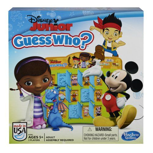 DVD Games - Disney Jr Guess WhoGame -- To view further for this item, visit the image link.