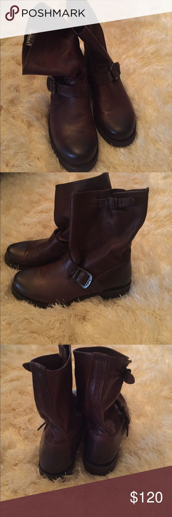Frye Veronica short boots Amazing condition, barely worn. Frye Shoes Winter & Rain Boots