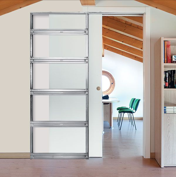 What Is A Pocket Door Frame? A Frame Designed To Allow A Door To Slide  Inside A Pocket Located Within The Cavity Of A Wall.The Sliding Door  Disappears, ...