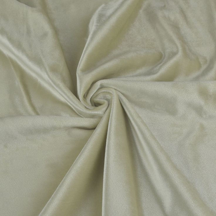 Hotham Beige and Yellow Plain Ready Made Velvet Curtains and Fabrics Beige Color