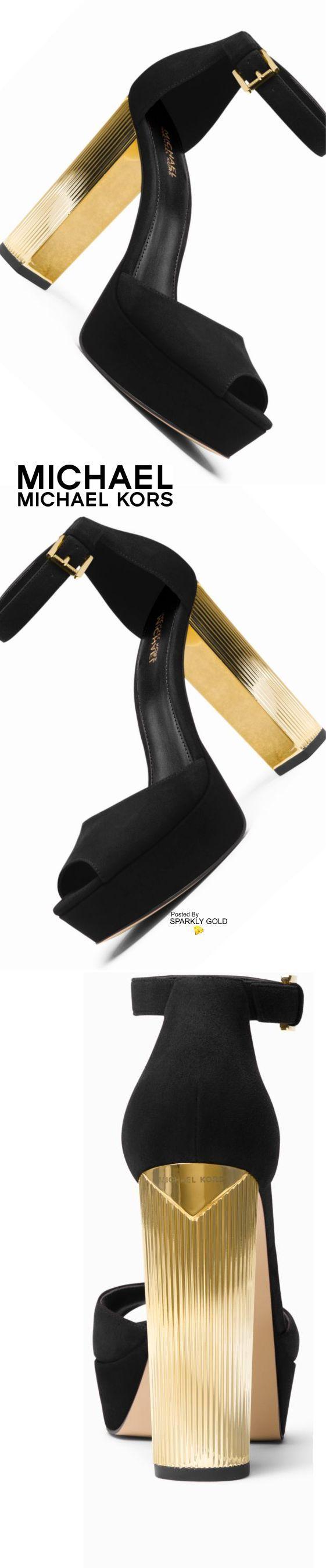 Michael Kors/Paloma Suede Platform Sandal