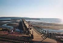 The pier on White Rock Beach