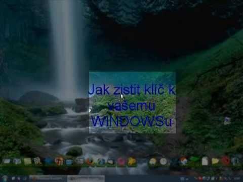 jak zjistit klíč k Windows