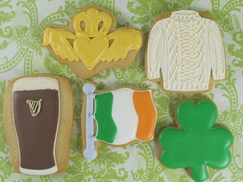 St Patrick day cookies