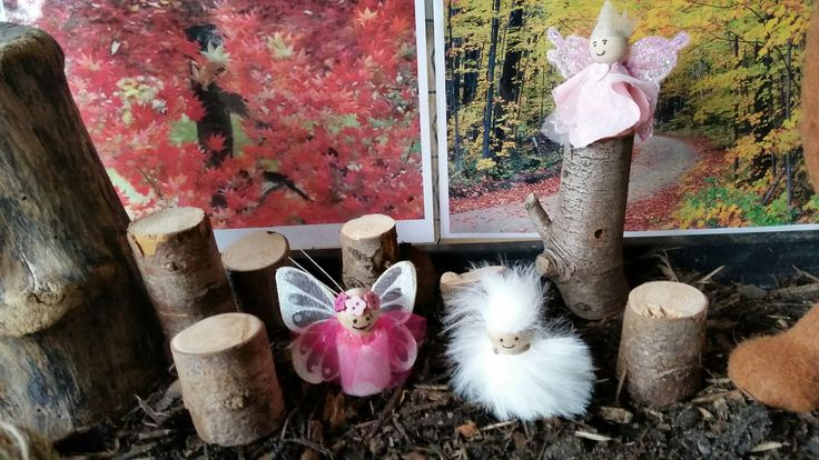 Fairies in the woods at Chadwell Pre-school