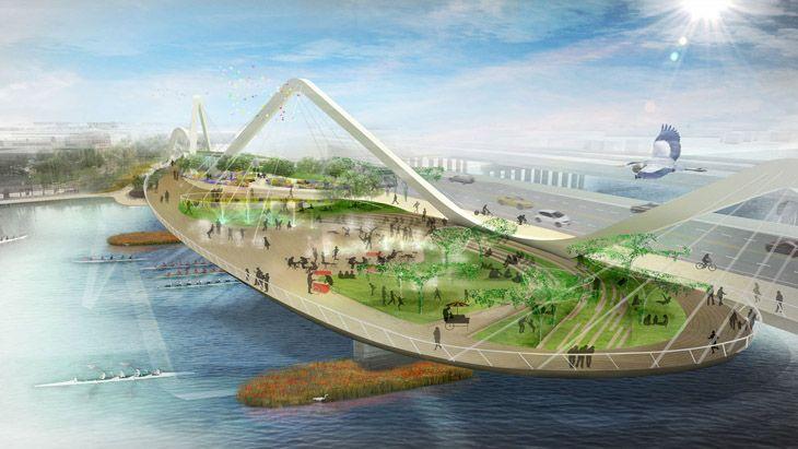 Washi  ngton'da Park Tasarımı için 4 Ekip Yarışıyor