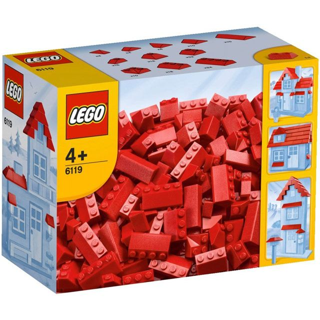 Đồ chơi LEGO 6119 The Roof Tiles – Ngói, mái nhà