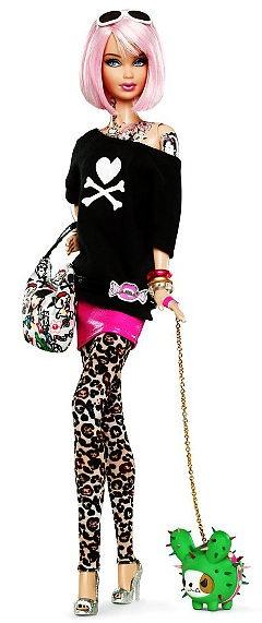 I love everything about this Tokidoki Barbie, 2011