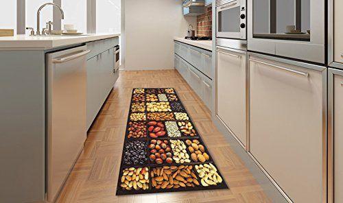 Tappeto cucina antiscivolo corsia stuoia per cucina KITCH SEMI 60X110