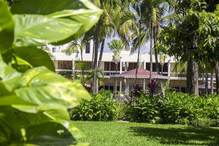 Jardines del Hotel Posada de Tampico.