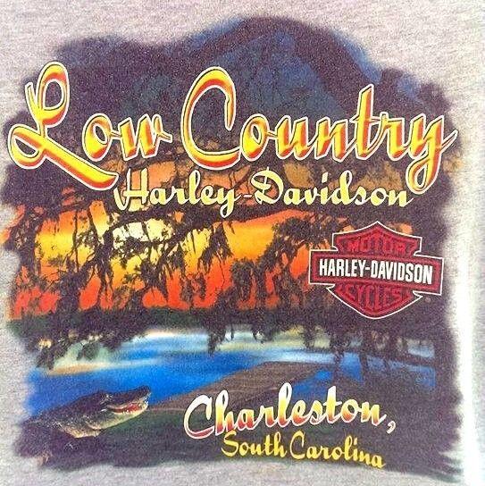 harley davidson motorcycles t-shirt low country charleston south