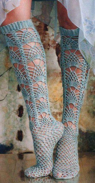 Crochet socks ♥✤ | Keep the Glamour | BeStayBeautiful      ♪ ♪ ... #inspiration_crochet #diy GB