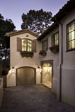 Ranch Style Home Curb Appeal Design Ideas, Pictures, Remodel, and Decor - page 9  Love these shutters and window boxes