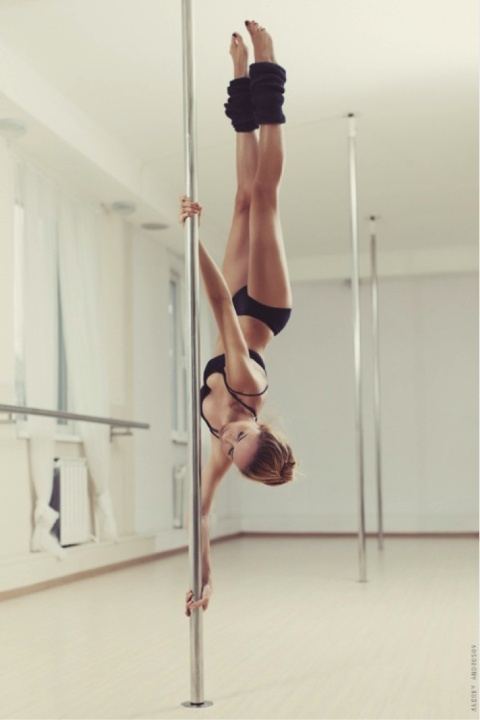 My friend teaches Pole Dancing, I'd love to learn it.  It's not nearly as easy as it looks