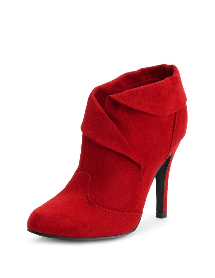 Red Ankle Boots <3